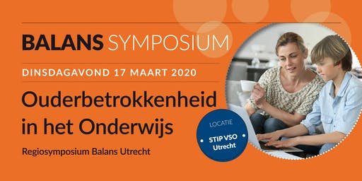Ouderbetrokkenheid in het Onderwijs - Regiosymposium Balans Utrecht