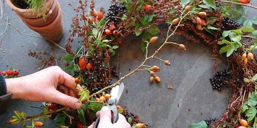 Spaces X Plantology Wreath Making Workshop
