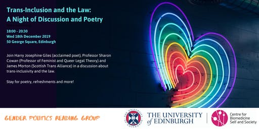 Trans-Inclusion and the Law: A Night of Discussion and Poetry