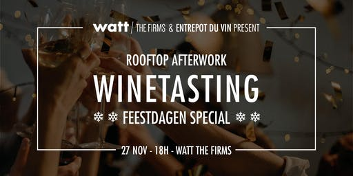 Rooftop afterwork ** winetasting special **