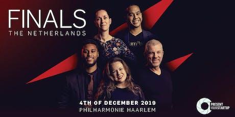 Finals Present Your Startup 2019 tickets