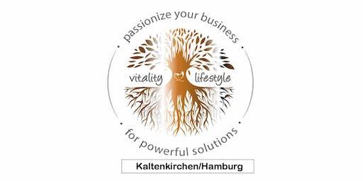 Passionize your Business for powerful solutions/ Kaki/mit Antje Lüdemann
