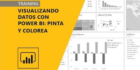 Visualizando datos con Power BI: Pinta y colorea entradas