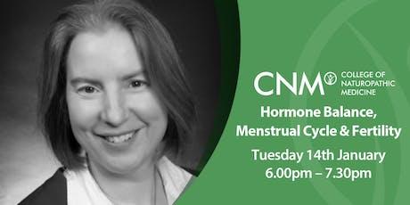CNM Edinburgh - Hormone Balance, Menstrual Cycle and Fertility tickets