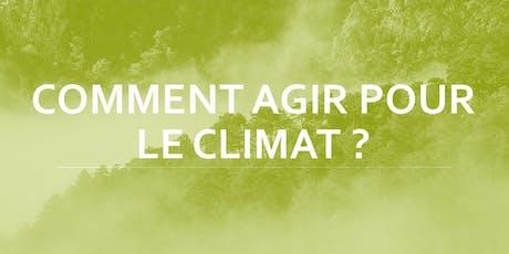 Atelier Climat - Comment Agir ? #5 billets