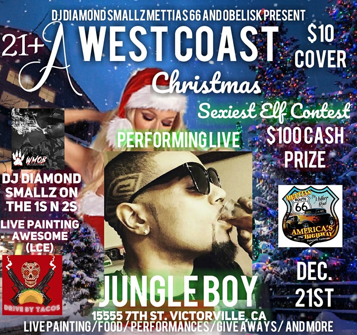 We Have Jungle Boy of Fathers In HipHop and OGz Offspring Blessn the Stage! You dont wanna miss out!