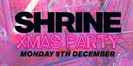 SHRINE CHRISTMAS SAMPLE SALE tickets
