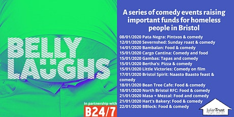 Belly Laughs with Bristol24/7 @ Bristol Spirit: Naasto Baasto Food & Comedy tickets