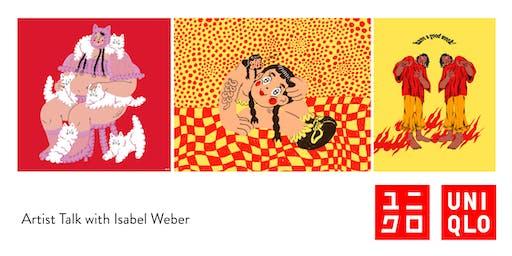 Artist Talk with Isabel Weber
