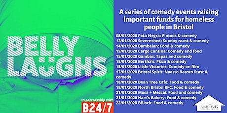 Belly Laughs with Bristol24/7 at  Hart's Bakery: Food and Comedy tickets
