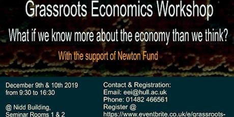 GRASSROOTS ECONOMICS WORKSHOP tickets