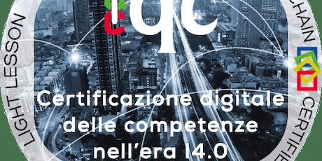 Certificazione digitale delle competenze con l'uso dell' Open Badge biglietti