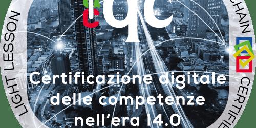 Certificazione digitale delle competenze con l'uso dell' Open Badge