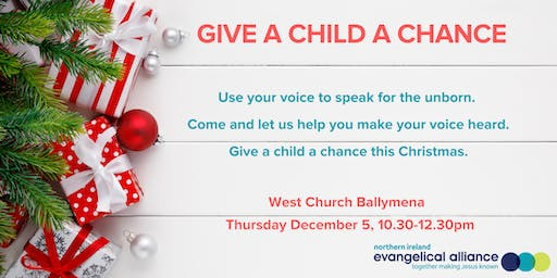 GIVE A CHILD A CHANCE - Ballymena