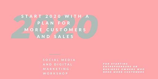 Start 2020 with a plan: Social media and digital marketing workshop