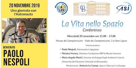 Incontro con Paolo Nespoli biglietti