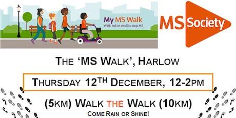 MS Walk - Harlow (5km or 10km) tickets