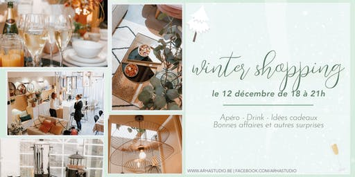 Winter Shopping Night au loft ARHA Studio.
