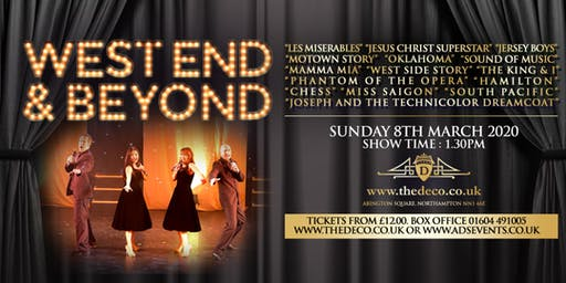 West End & Beyond at Deco Theatre
