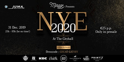 Winterbar Mirage Mechelen: New Year's Eve at City Hall