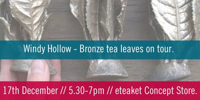 Windy Hollow Bronze Tea Leaves on Tour.