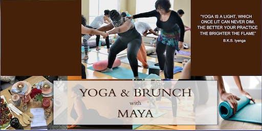 YOGA & BRUNCH with MAYA BREUER