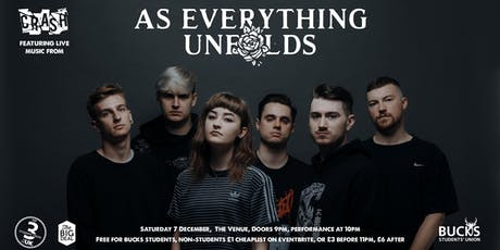 Crash! Feat. As Everything Unfolds tickets