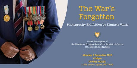 LAUNCH: The War's Forgotten | Photography Exhibition by Dimitris Vattis  tickets