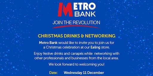 Metro Bank Ealing Christmas Drinks & Networking