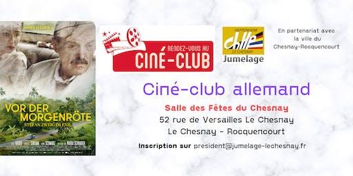 """Ciné-Club allemand """"Vor der Morgenröte"""""""