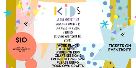 Kids and Tweens Crafternoons tickets