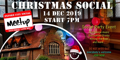 Christmas Social Oxford