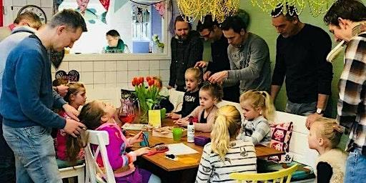 Basisworkshop haarvlechten voor papa's en dochtertjes 8-2-2020