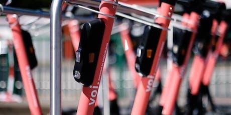 Focus Group Voi #2 : Le stationnement des trottinettes électriques en ville tickets