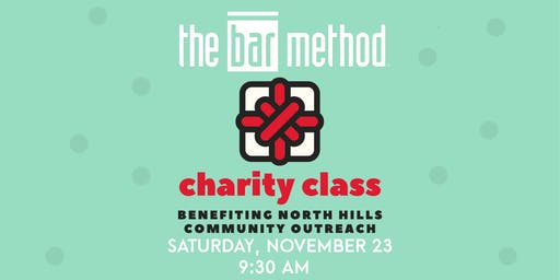 Bar Method Wexford Charity Class Benefiting North Hills Community Outreach