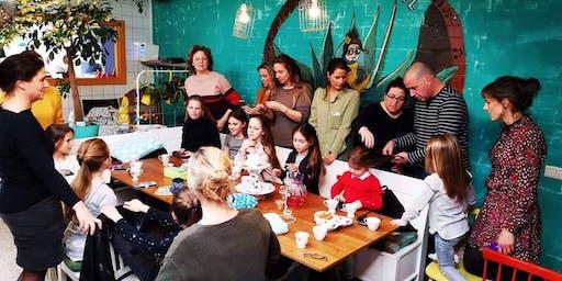 Advanced workshop haarvlechten voor mama's en dochtertjes 18-04-2020