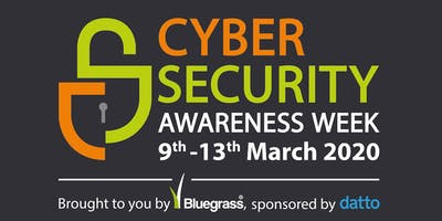 Cyber Security Awareness Week: Launch networking event