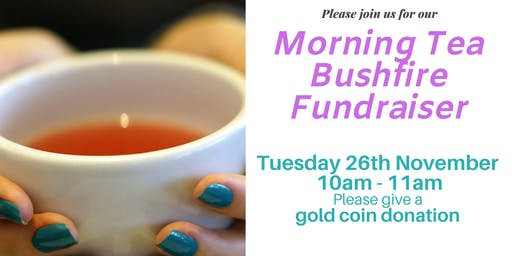 Morning Tea Bushfire Fundraiser