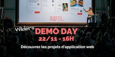 Démo day - présentation des projets d'applications web des Wilders