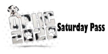 QPHC 2020 Saturday Pass tickets