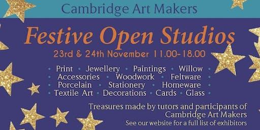 Festive Open Studios at Cambridge Art Makers