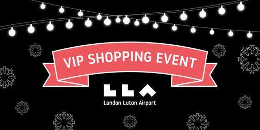 London Luton Airport Christmas shopping events