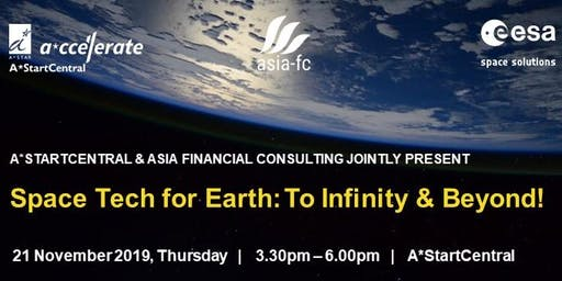 Space Tech for Earth: To Infinity & Beyond!