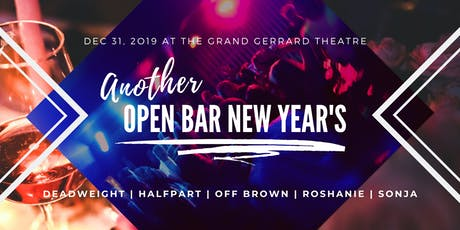 Another Open Bar New Year's tickets
