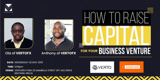 How to Raise Capital for Your Business Venture