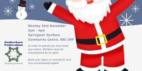 Santa at Springwell tickets