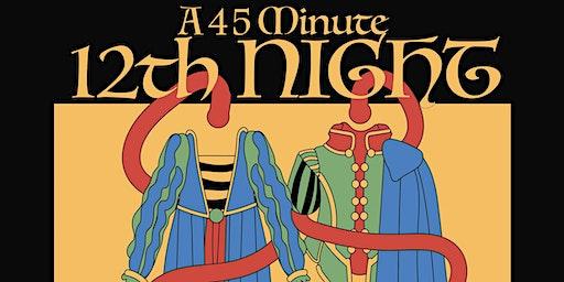 Twelfth Night performed by Cuddington Youth Drama