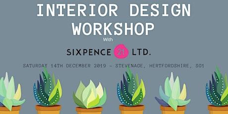 Interior Design Workshop tickets