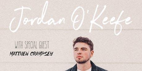 Jordan O'Keefe LIVE @ Sandinos tickets