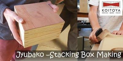 Making JYUBAKO, Stacking Boxes - Woodwork for Fun 2020